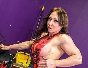 SofieMarieXXX/Hard Work Construction Tape Brandi Mae